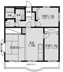 コート・グランシャリオ[2階]の間取り