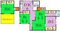 [タウンハウス] 東京都足立区江北3丁目 の賃貸【東京都 / 足立区】の間取り