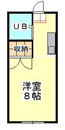 石井ハイツ[2階]の間取り