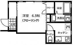 メゾン・ソレイユ長栄寺[1階]の間取り