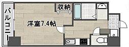 マードレ西宮[5階]の間取り