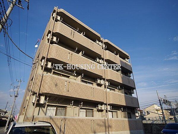 栃木県宇都宮市雀の宮1丁目の賃貸マンションの外観