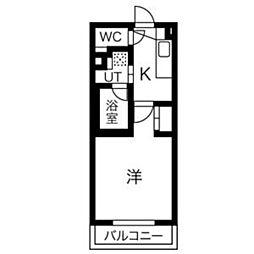 タウンライフ覚王山北[3階]の間取り