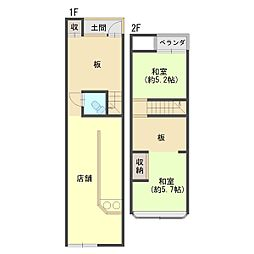 JR東海道・山陽本線 西大路駅 徒歩8分 4DKの間取り