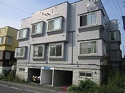 AMS新富C棟[2階]の外観