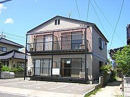 鳥取県米子市上福原4丁目の賃貸アパートの外観
