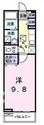 広島県尾道市美ノ郷町三成の賃貸アパートの間取り