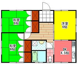 [一戸建] 宮崎県小林市大字南西方 の賃貸【/】の間取り