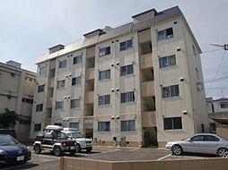 城南マンション[405号室]の外観