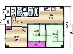 アイボリッチマンション[2階]の間取り