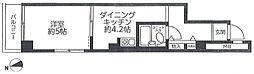 日興パレス羽田PARTII bt[413kk号室]の間取り