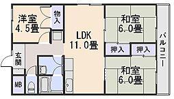 紺屋ビル[3階]の間取り