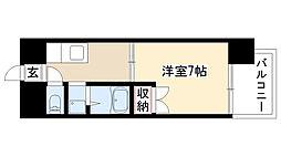 愛知県名古屋市南区柵下町2の賃貸マンションの間取り