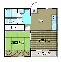 和宏ビル[3階]の間取り