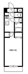 メゾン・リベルテ[3階]の間取り