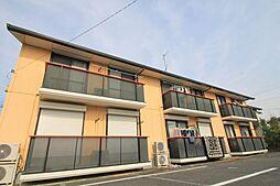 埼玉県久喜市松永の賃貸アパートの外観