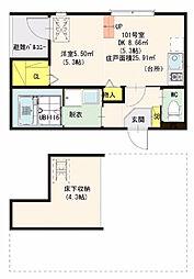 仮)ハーモニーテラス・東大阪瓜生堂2丁目・SKHコーポ[1階]の間取り