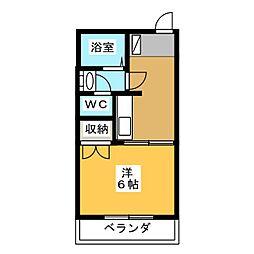 メゾン新栄II[1階]の間取り