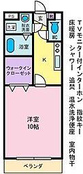 ハピネスI[1階]の間取り