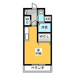 TKマンションII[1階]の間取り