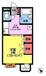 第一STM日野(3F)[3階]の間取り