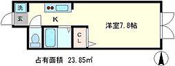D`sLYRA[5階]の間取り