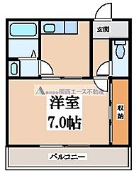 弥生ハイツ[2階]の間取り