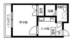 カーサ・ミラ北寺島[6階]の間取り