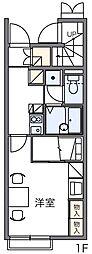 サンリーブIII[1階]の間取り
