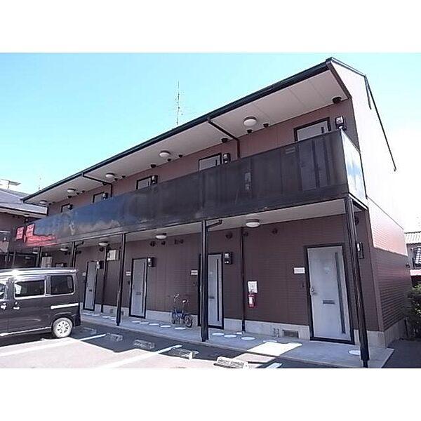 奈良県桜井市川合の賃貸アパートの外観
