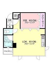 MMマンション[2階]の間取り