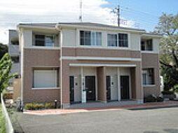 埼玉県比企郡小川町大字増尾の賃貸アパートの外観