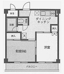WAGAビル[3階]の間取り