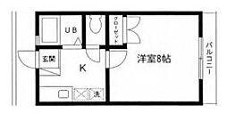 メゾン HK[0101号室]の間取り