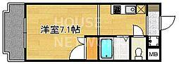 フォスマット松ヶ崎[202号室号室]の間取り