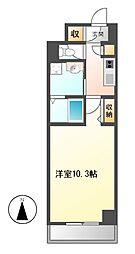 ラフィーネ・大島[4階]の間取り