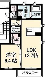 シャーメゾンフォーレ蔵本II[2階]の間取り