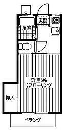 RBap C[1階]の間取り