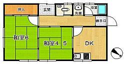 [一戸建] 滋賀県大津市苗鹿1丁目 の賃貸【/】の間取り