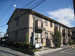大阪府東大阪市角田1丁目の賃貸アパートの外観