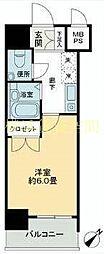 S-FORT蒔田公園[6階]の間取り