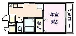 JPアパートメント柏原[2階]の間取り