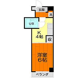アドバンス 1号館[3階]の間取り