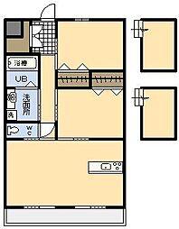 SOLARE[3階]の間取り