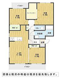 YIマンション壱番館[3階]の間取り