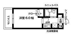 Nasic梶ヶ谷[410号室号室]の間取り