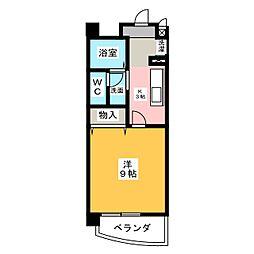 パレドールKonishi[1階]の間取り