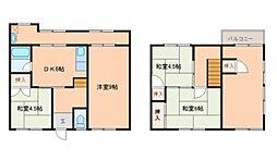 [テラスハウス] 和歌山県和歌山市北 の賃貸【和歌山県 / 和歌山市】の間取り
