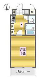 エステムコート大阪城南[2階]の間取り