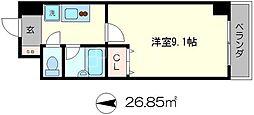 ドミトリィ御池[2階]の間取り
